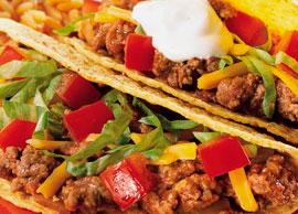 Beef Tacos (3 Hard Tacos)