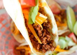 Beef Tacos (3 Soft Tacos)