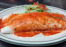 Burrito a la Costa (Beef)