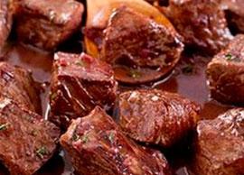 Chalupa Salad (Beef Tips)