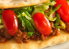 Chalupa Salad (Ground Beef)
