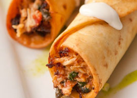 Chicken Flautas (2)