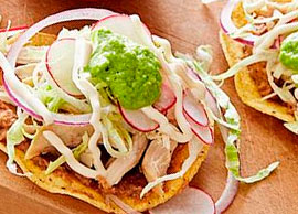 Chicken Tostadas (2)