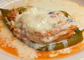 Chile Relleno (Chicken)