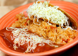 Combination 6 One Taco and One Enchilada