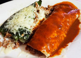 Combination 7 One Enchilada and One Chile Relleno
