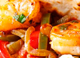 Fajitas (Shrimp)
