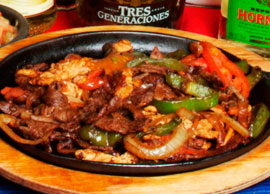 Fajitas Steak & Chicken
