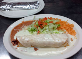 Lunch Chimichanga (1)