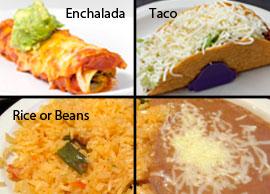 Lunch Combination 9 Speedy Gonzales