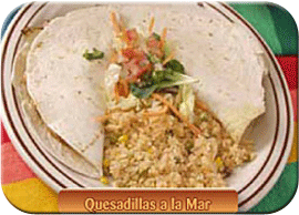 Quesadillas a la Mar