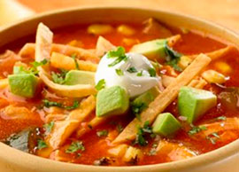 Sopa de Tortilla Bowl