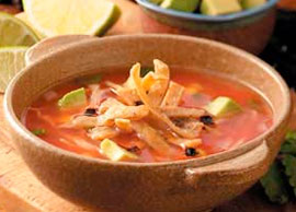 Sopa de Tortilla Small
