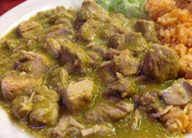 Steak Chile Verde