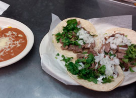 Tacos de Lengua (Cow Tongue)