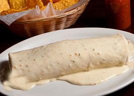 Vegetarian Lunch Veggie Gigante Burrito