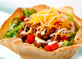 Traditional Taco Salad (Beef)